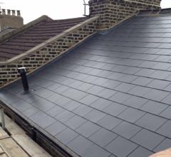 New slate roof East London Hackney